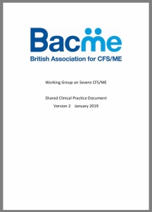 Title page of BACME guidelines, bearing their logo